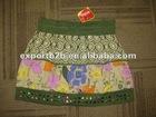 women allover printed skirt