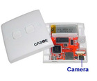 motion detection power switch camera in power socket