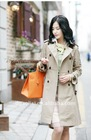 Fashion Elegant Lady Casual Long Coat
