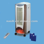 hot selling air cooler and heater with fireplace