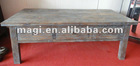 rural vintage wood coffee table for home decor