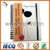 Printed elegant paper notebook cover design