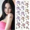 fashionable temporary tattoo sticker