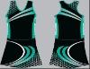digital printed tennis skirt for team