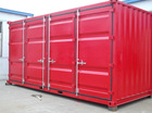 prefab portable used 20ft contianers for sale