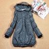 fashion wadded long coat