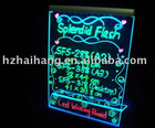 2011 hot led illuminated advertising board make your information stand out