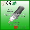 ISO9002 CE ROHS CATV COAXIAL CABLE HFBT 10C-2V
