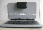 7inch tablet pc case with USB port leather keyboard