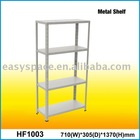 Powder coated Four-shelves Metal Shelf Storage Rack Display Rack