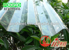 0.75mm transparent PC corrugated sheet for roofing