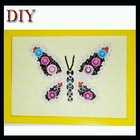 DIY buttons of butterfly decorative buttons for crafts