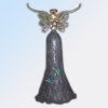 Hanging Glass Angel Ornaments, Ideal for Christmas Tree