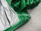 80GSM PP TARPAULIN/WATERPROOF PLASTIC COVER/AWNING/TRUCK COVER/POLY TARPS/RECYCLED TARPAULIN