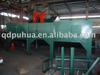 Q69 steel plate/H beam cleaning machine production line
