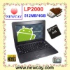 10.1 inch notebook & EPC with Android 4.0 OS (LP2000)