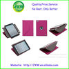 New design wake up sleep envelope leather case for ipad mini