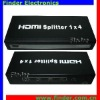 4 ways HDMI Splitter Box (HDMI Amplifier Splitter)