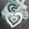Wedding Gifts Metal Sweet Heart Bookmark