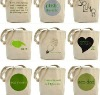2012 reusable green Eco bags for gifts shopping