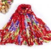 2012 Winter Multi-color Hot Sale Women Fashion Scarf, Hijab, Shawl, Neckwear, Wrap