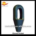 Grooved Closed Spelter Socket