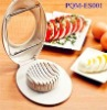 High durability easily using white plastic egg slicer 001