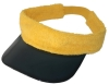 Terry towel fabric visor