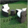Elegant and fashionable outdoor furniture with 100% PE Rattan MS-130#E
