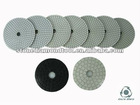 Excellent durable diamond wet polishing pads
