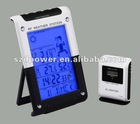 Wireless 433MHZ Weather Station withdigital projection clock
