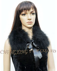 CX-A-46C Woman Feather detachable Fur Collar