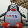 inflatable penguin cartoon for advertising