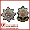 Bullion Wire badges, Hand Embroidery Cap Badges