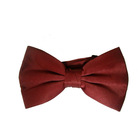 100% silk dyed bow tie
