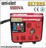 semi silent diesel generator 5500Va