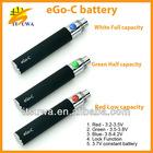 100% cigarettes 510 650/900/1100mah starter kit ecig ego c