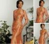 Elegant Sleeveless Wrap Embroidered Suits dress