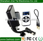 All kits car fm transmitter with remote control for iphone 4S