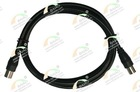 coiled coaxial cable