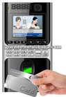 Fingerprint + card time attendance machine with HD camera