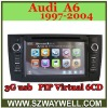 3G USB port ,PIP function ! 1997-2004 Audi A6 gps navigation player with BT dvd player