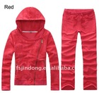 Winter 2012 Slim sportswear / Hooded track suit /Red track suit =JD-LSW106
