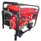 2.5kva portable digital mini gasoline generator with wheels and trolly handle electric start