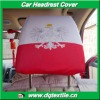 poland Car head rest cover for advertising