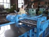 Flattening machine / lever machine for packaging machine or steel drum making machine