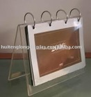 Acrylic Calendar and Table Stand with Customized Designs and Drawings