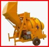 Hot-selling Diesel Mobile Concrete Mixer JZF350