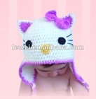 hand knitted hat HT9003