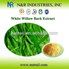 White Willow Bark P.E. or Salix Alba Extract Salicin 10% to 98% by HPLC